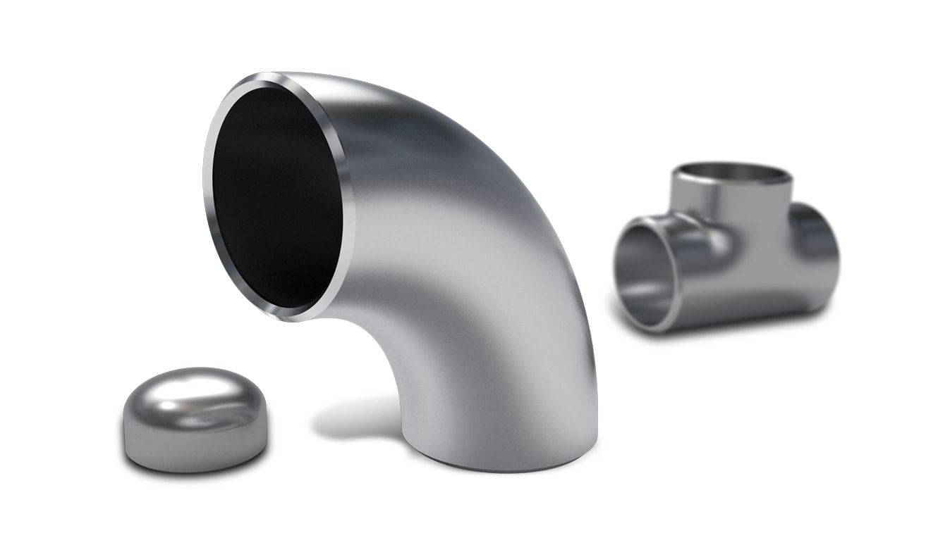 FITTINGS, ELBOW, TEE, CAP, CONCENTRIC REDUCER in austenitic stainless steel, nickel alloys, titanium and high temp grades. We stock urea grades and nitric acid grades. GEMACO SA